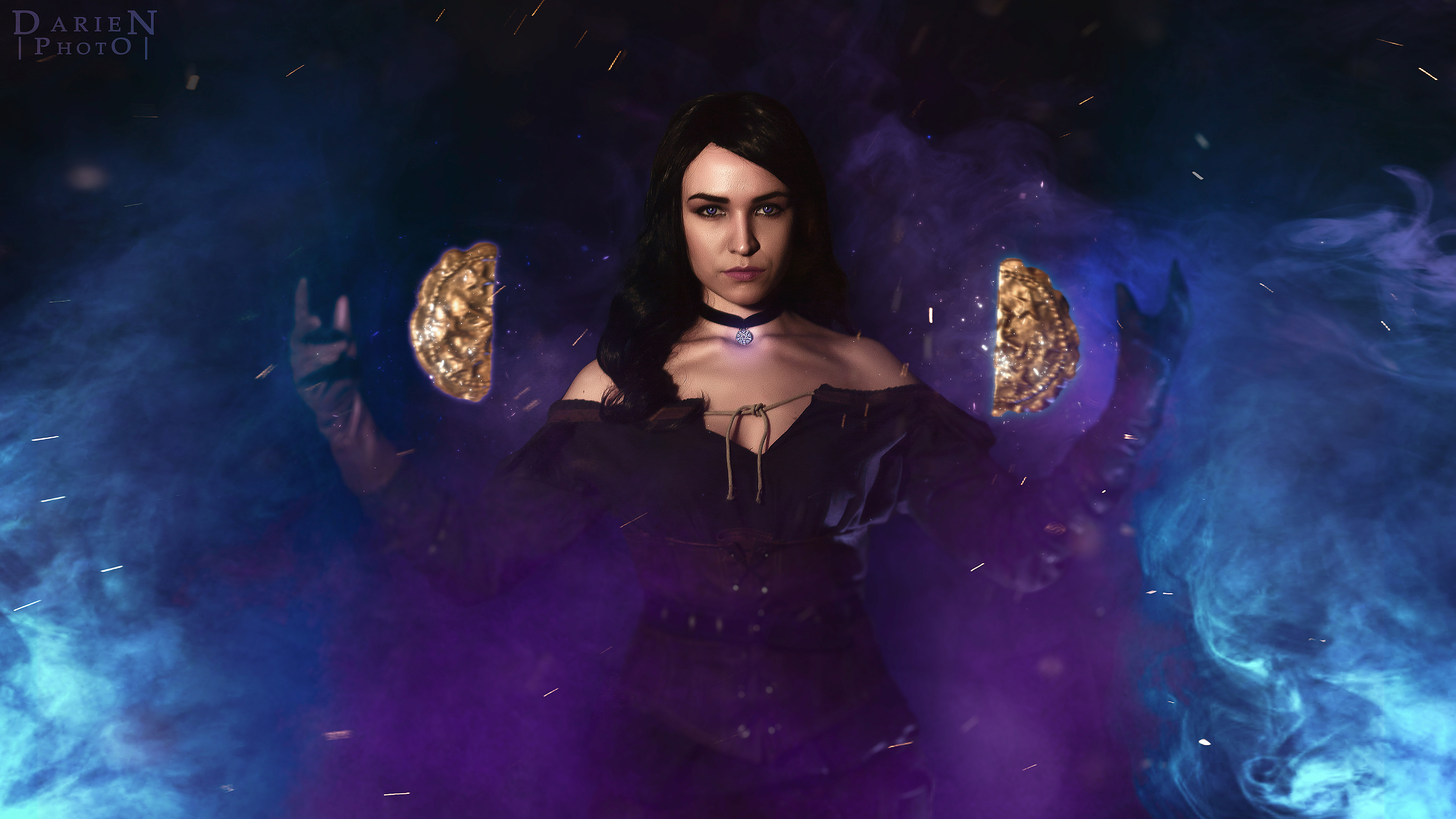 The Witcher 3 Wild Hunt Yennefer Of Vengerberg Cosplay Hd