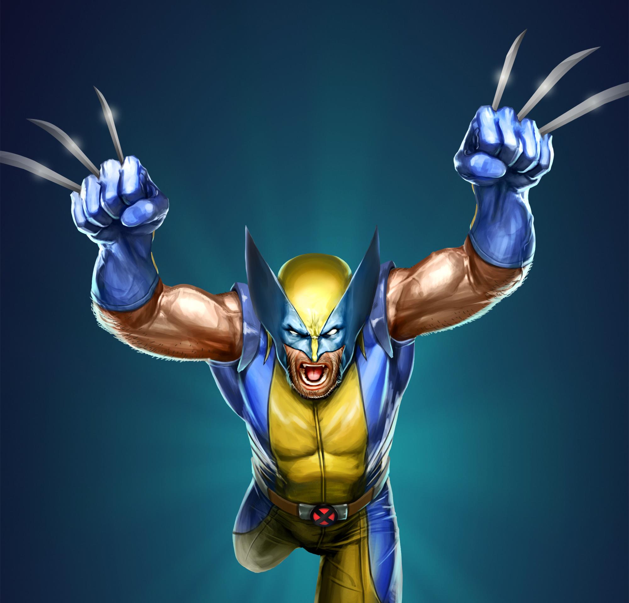 The Wolverine Marvel Artwork, HD Superheroes, 4k