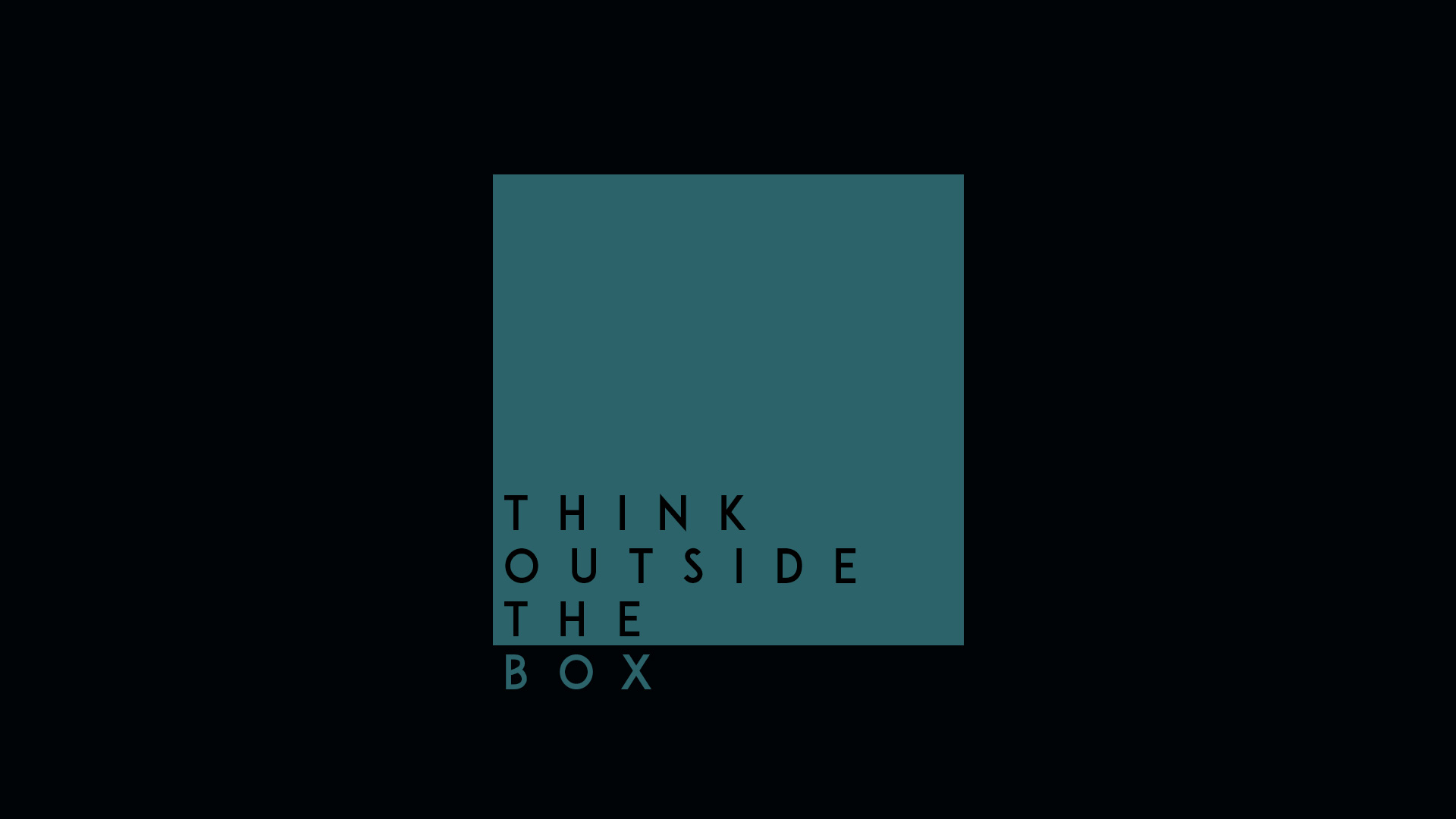 think outside the box hd hd typography 4k wallpapers images backgrounds photos and pictures. Black Bedroom Furniture Sets. Home Design Ideas