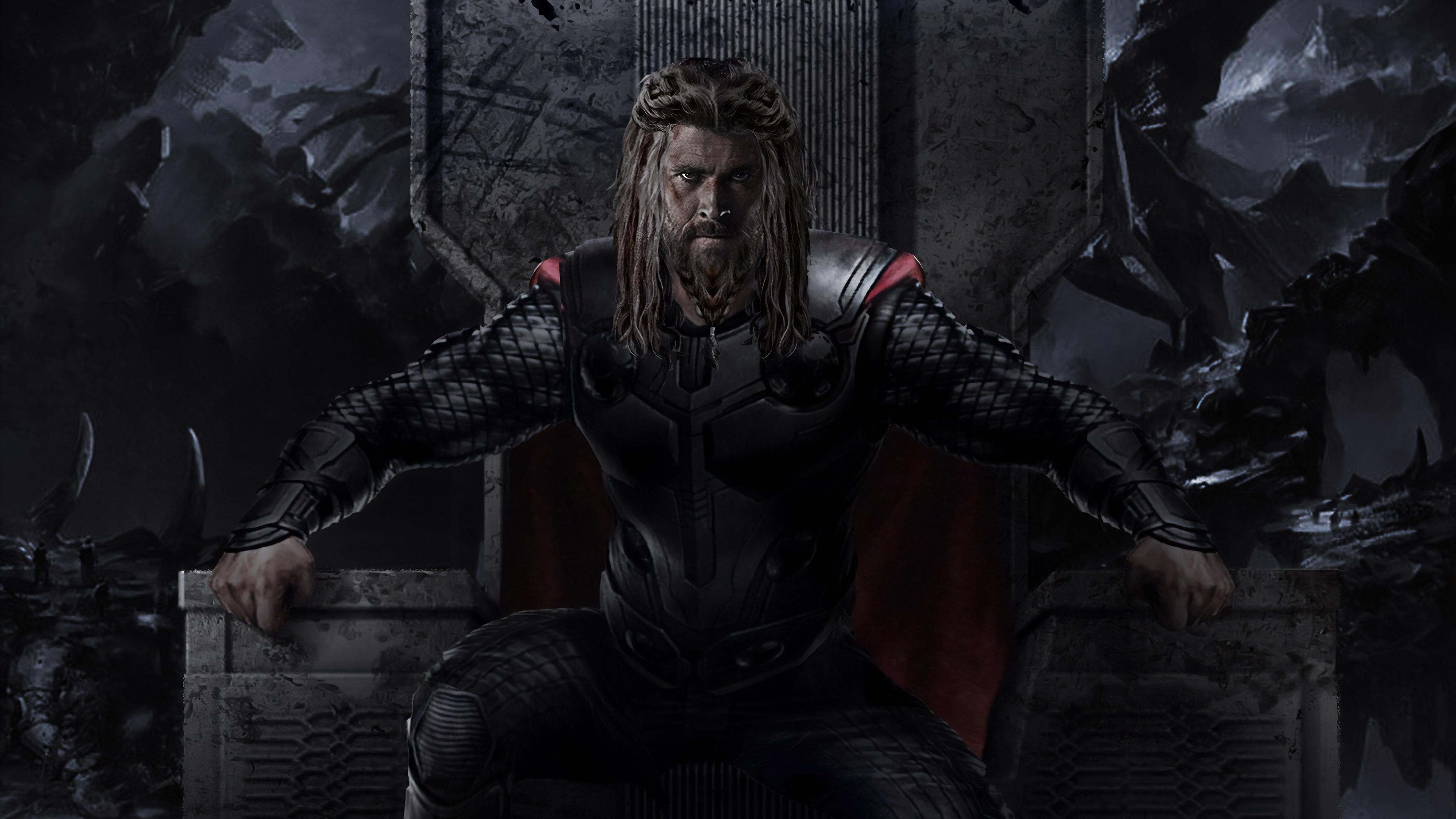 Thor 4k Avengers Endgame Hd Superheroes 4k Wallpapers