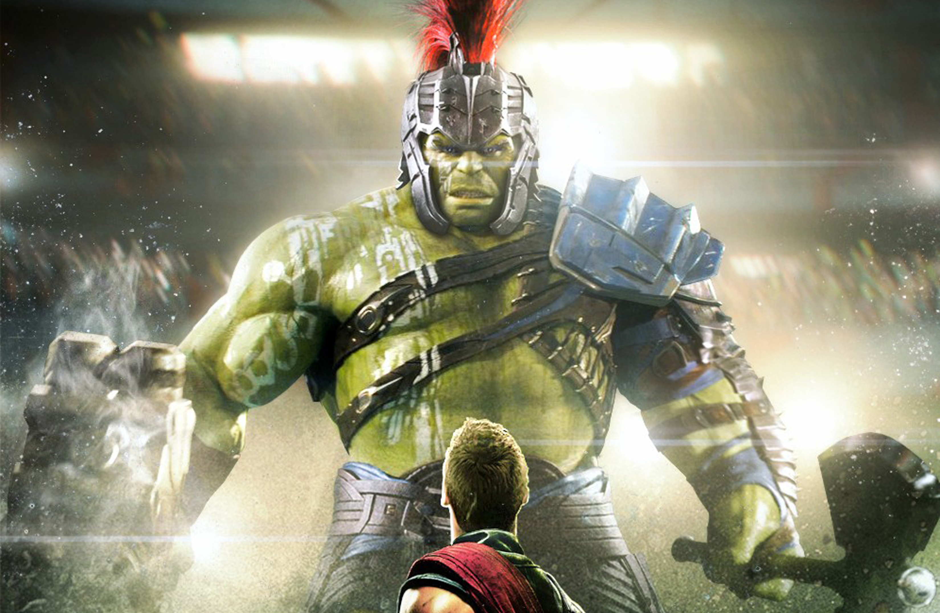 Thor And Hulk In Thor Rangnarok