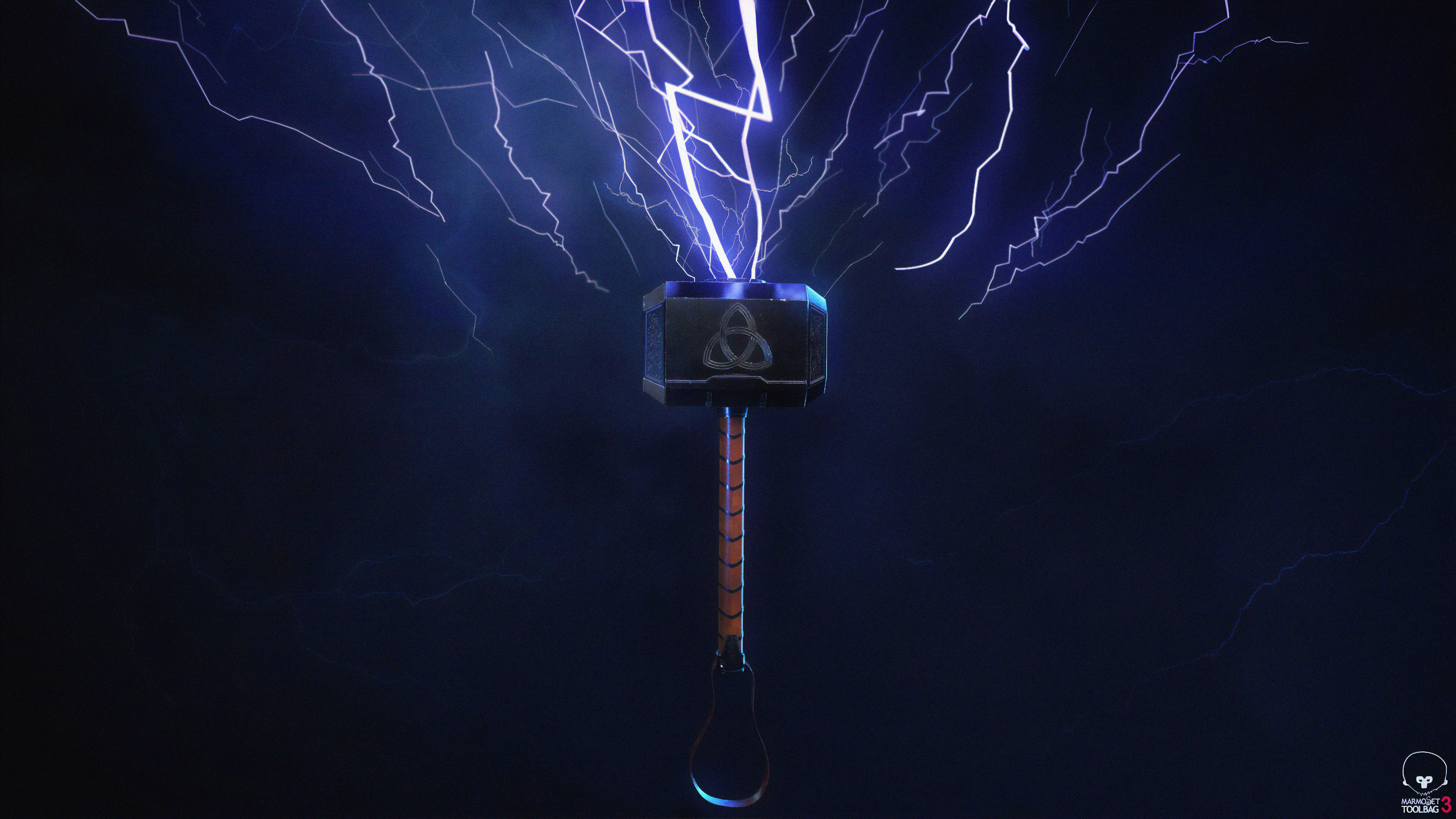 Thor Hammer 4k New Hd Superheroes 4k Wallpapers Images