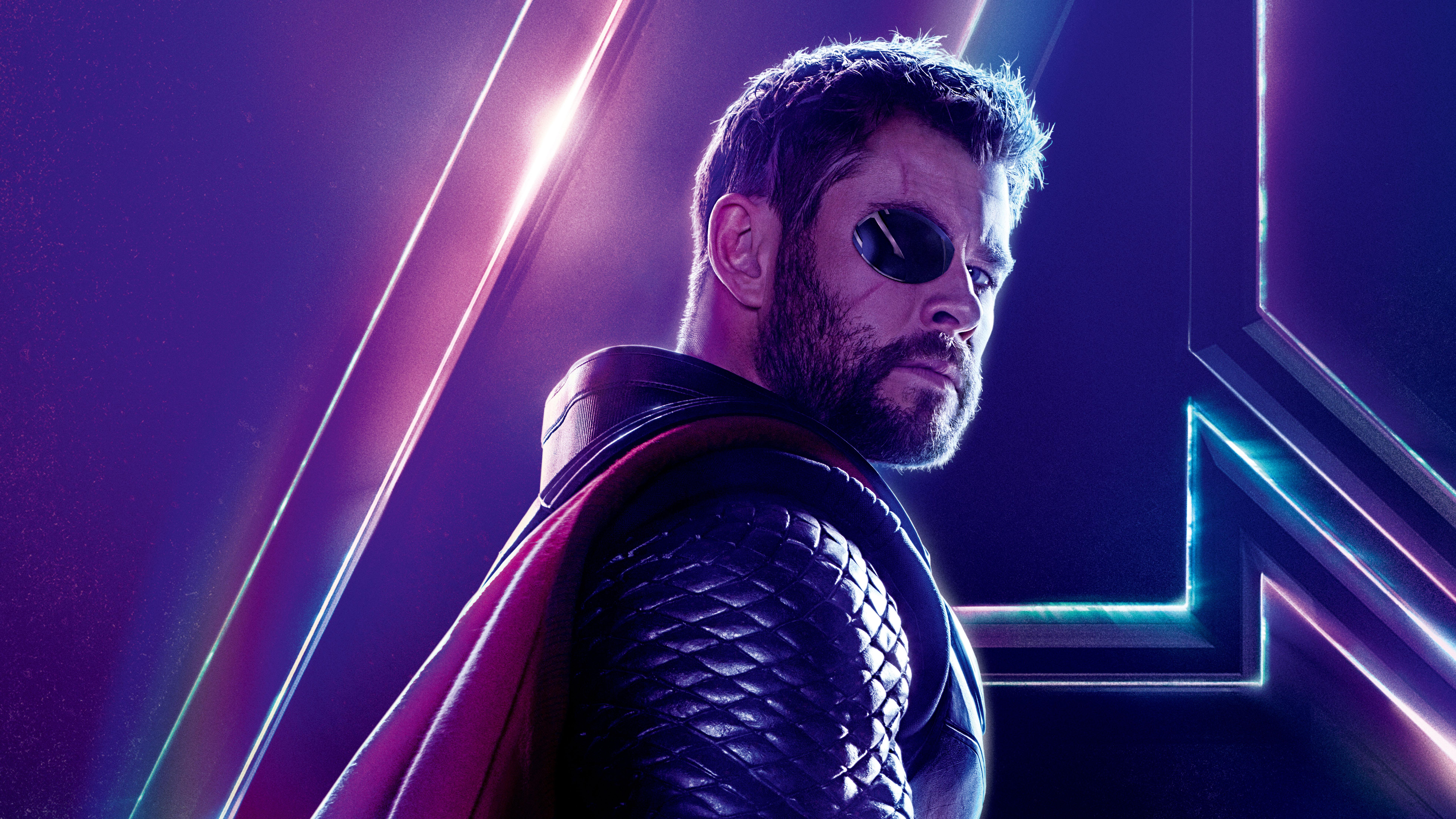 Shuri In Avengers Infinity War New Poster Hd Movies 4k: Thor In Avengers Infinity War New 8k Poster, HD Movies, 4k
