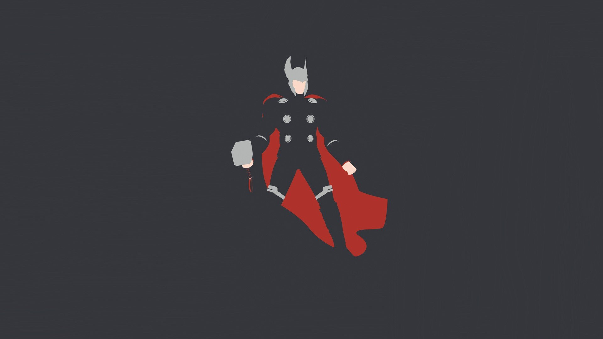 Thor Minimalism Hd HD Artist 4k Wallpapers Images Backgrounds