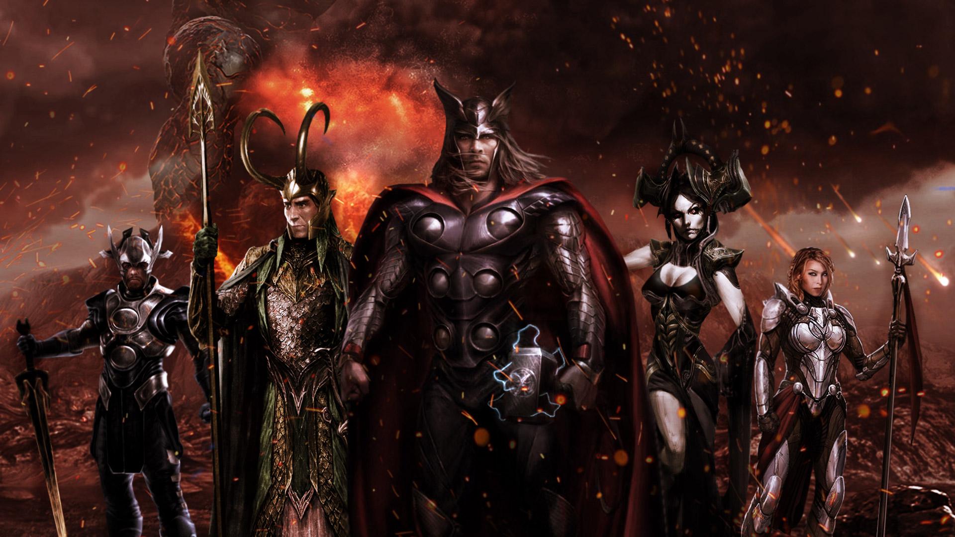 Thor ragnarok fan poster hd movies 4k wallpapers images - Thor ragnarok hd wallpapers download ...