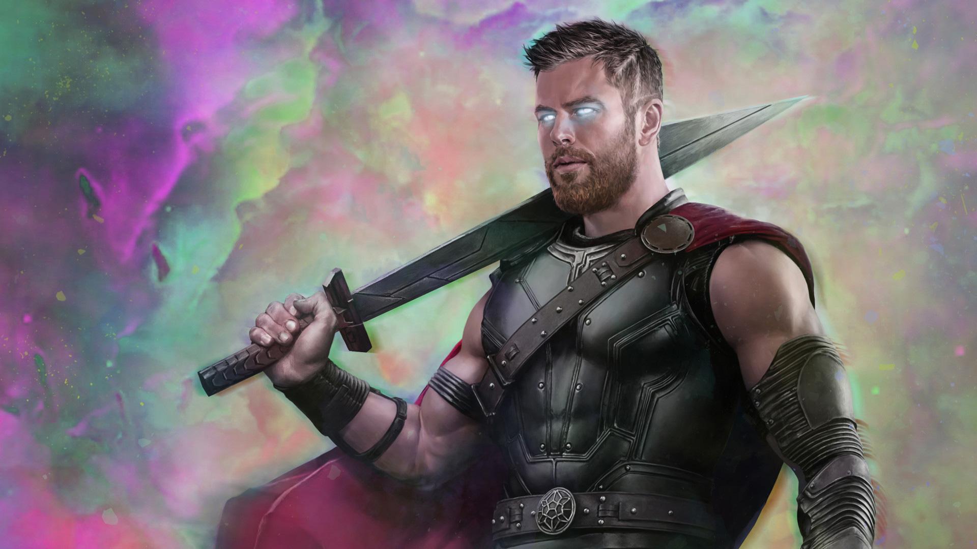 Thor Ragnarok Movie Art 2018 Hd Superheroes 4k Wallpapers Images