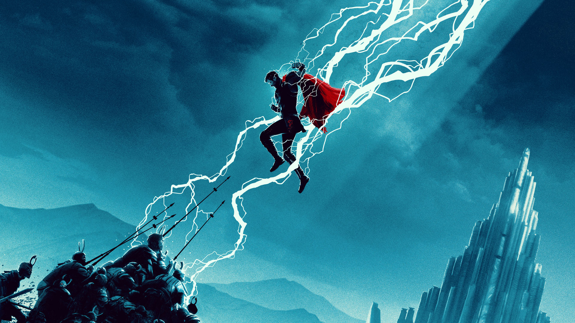 Thor ragnarok movie artwork 2018 hd superheroes 4k - Thor art wallpaper ...
