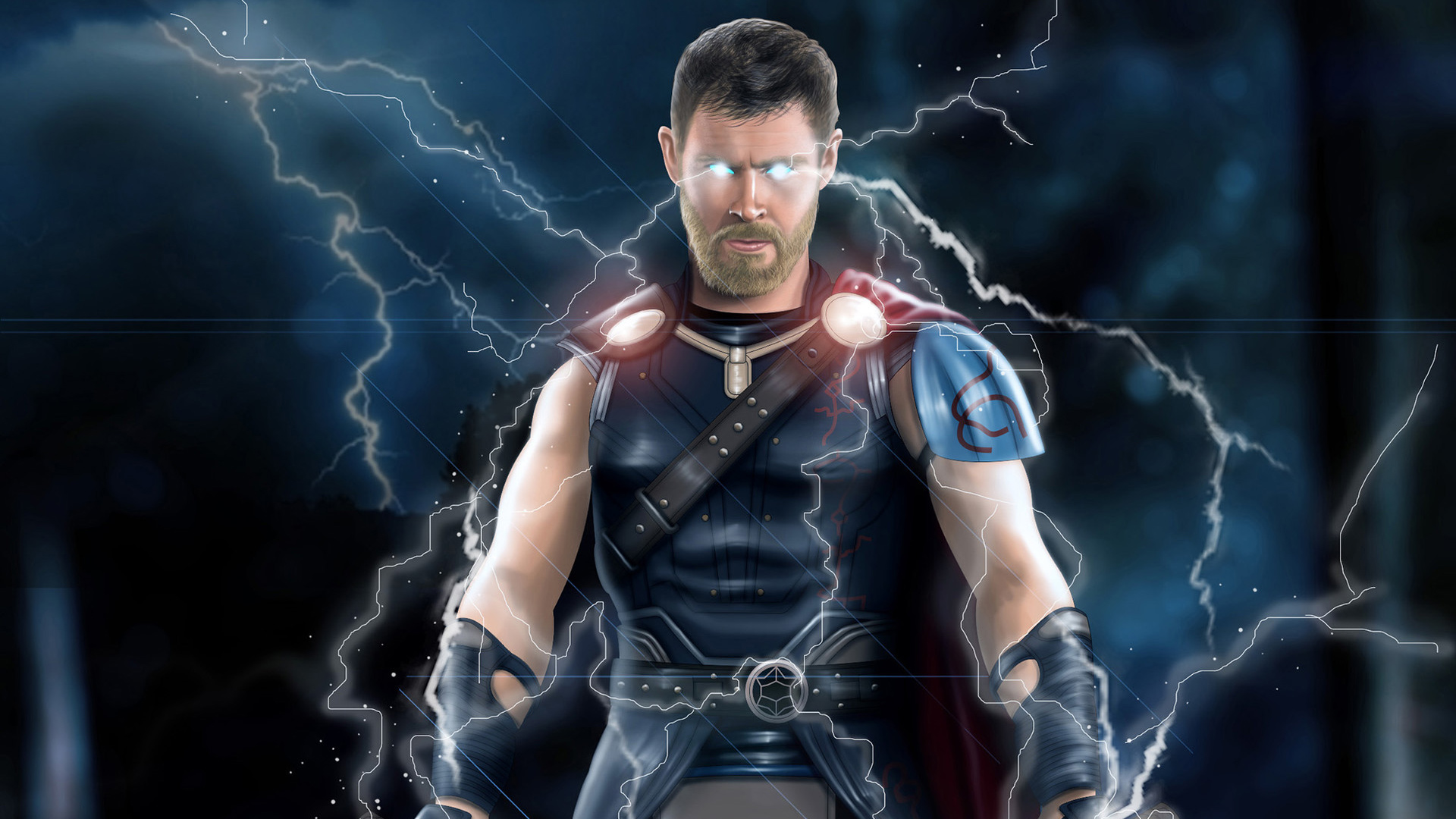 Thor ragnarok movie artworks hd superheroes 4k - Thor ragnarok hd wallpapers download ...