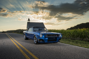 1965 Ringbrothers Ford Mustang Convertible Ballistic 4k
