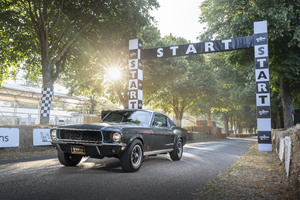 1968 Mustang GT Fastback Wallpaper