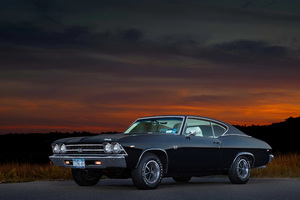 1969 Chevrolet Chevelle SS 396 Wallpaper