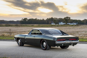 1969 Ringbrothers Dodge Charger Defector Rear View Wallpaper