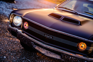 1970 AMC AMX 4K Wallpaper