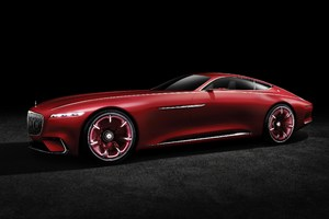 2016 Mercedes Maybach Vision Concept Car
