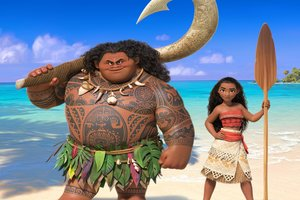 2016 Moana Movie