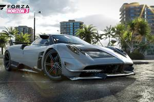 2016 Pagani Huayra BC in Forza Horizon 3 DLC Wallpaper