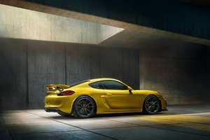 2016 Porsche Cayman GT4 HD Wallpaper