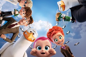 2016 Storks Animated Movie
