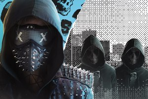 2016 Watch Dogs 2 Mask