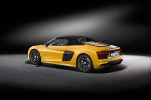 2017 Audi R8 V10 Spyder 4k Wallpaper