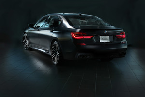 2017 BMW 740e IPerformance M Performance Rear