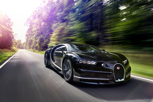 2017 Bugatti Chiron In Motion