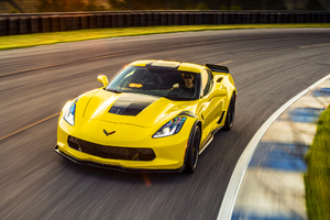 2017 Chevrolet Corvette Grand Sport Wallpaper