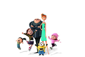 2017 Despicable Me 3 Movie 4k