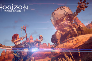 2017 Horizon Zero Dawn 4k