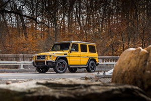 2017 Mercedes AMG G63 4k Wallpaper