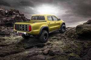2017 Mercedes-Benz X Class Pickup 8k Wallpaper