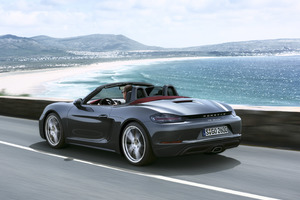 2017 Porsche 718 Boxster Wallpaper