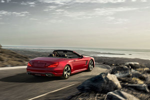2017 Sl Roadster Mercedes