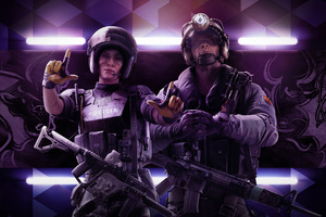 Tom Clancys Rainbow Six Siege Operation Velvet Shell Operator Mira And jackal