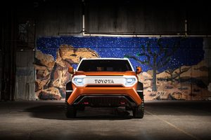 2017 Toyota FT 4X Concept Wallpaper