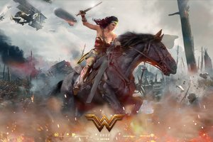 2017 Wonder Woman Movie Fan Art