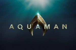 2018 Aquaman Movie Logo