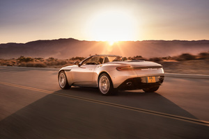 2018 Aston Martin Db11 Volante Rear Wallpaper