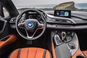 2018 BMW I8 Roadster Interior