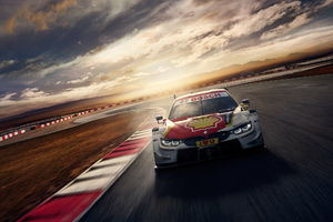 2018 Bmw M4 Dtm Front Look Wallpaper