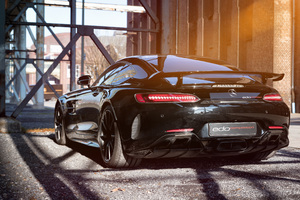 2018 Edo Competition Mercedes AMG GT R Rear Wallpaper