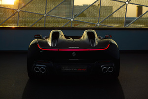 2018 Ferrari Monza SP2 Rear Wallpaper