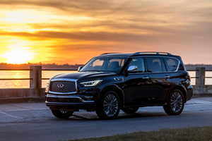 2018 Infiniti QX80 Wallpaper