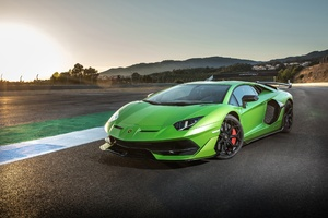 2018 Lamborghini Aventador SVJ New Wallpaper