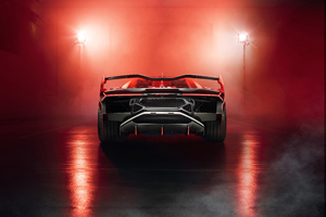 2018 Lamborghini SC18 Rear Wallpaper