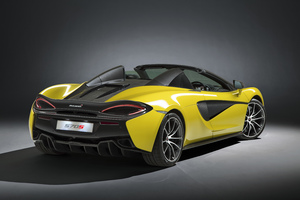 2018 McLaren 570S Spider Wallpaper