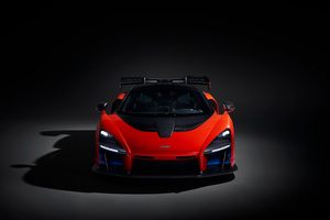 2018 McLaren Senna Front View Wallpaper