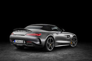 2018 Mercedes Amg Gt C Roadster Wallpaper