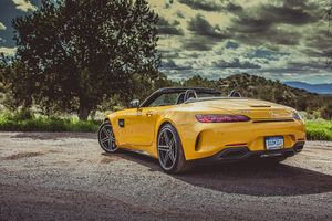 2018 Mercedes Amg Gt Roadster Wallpaper