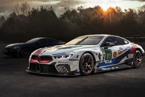 2018 Modified Bmw M8 Gte 4k
